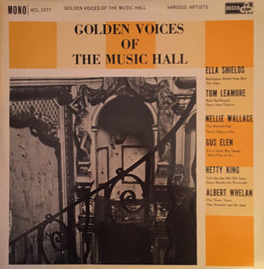 Various - Golden Voices Of The Music Hall