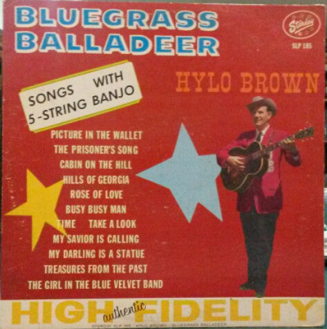 Hylo Brown - Bluegrass Balladeer