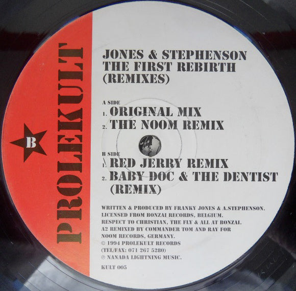 Jones & Stephenson - The First Rebirth (Remixes)