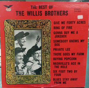 The Willis Brothers - The Best Of The Willis Brothers