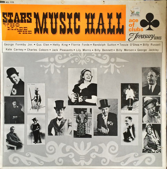 Various - Stars Who Made The Music Hall