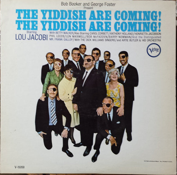 Bob Booker - The Yiddish Are Coming!