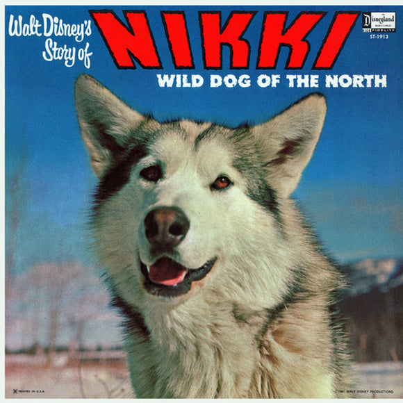 Unknown Artist - Nikki, Wild Dog Of The North