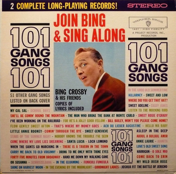 Bing Crosby - 101 Gang Songs