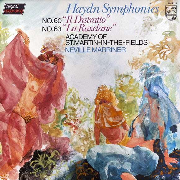 Joseph Haydn- Academy St. Martin-In-The-Fields - Symphonies No. 60