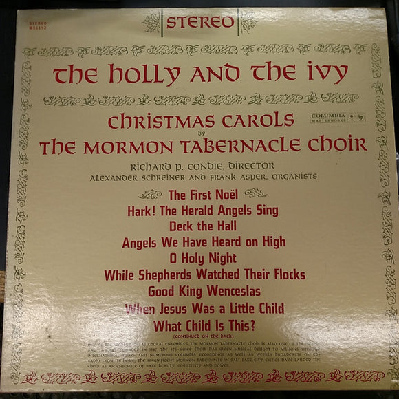 Mormon Tabernacle Choir - The Holly And The Ivy