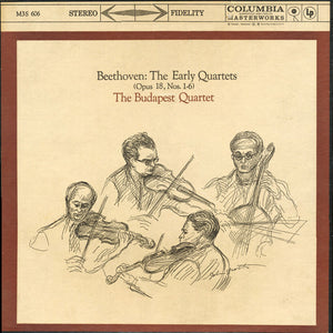 Budapest String Quartet - Beethoven: The Early Quartets