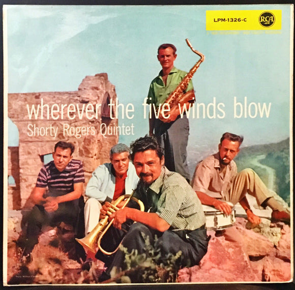 Shorty Rogers Quintet - Wherever The Five Winds Blow