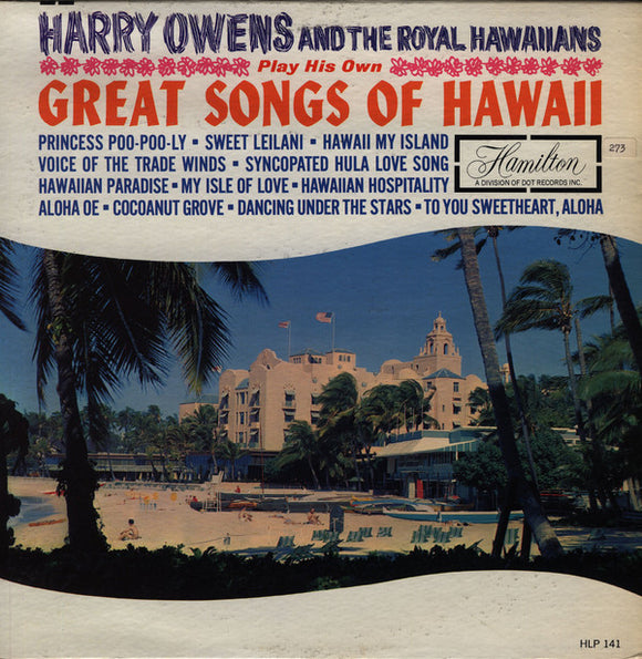 Harry Owens - Great Songs Of Hawaii