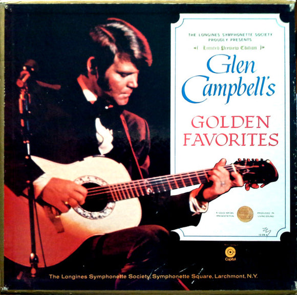 Glen Campbell - Glen Campbell's Golden Favorites