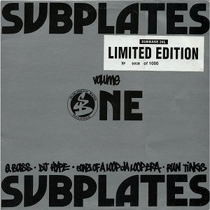 Various - Subplates Volume One Limited Edition