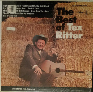 Tex Ritter - The Best Of Tex Ritter