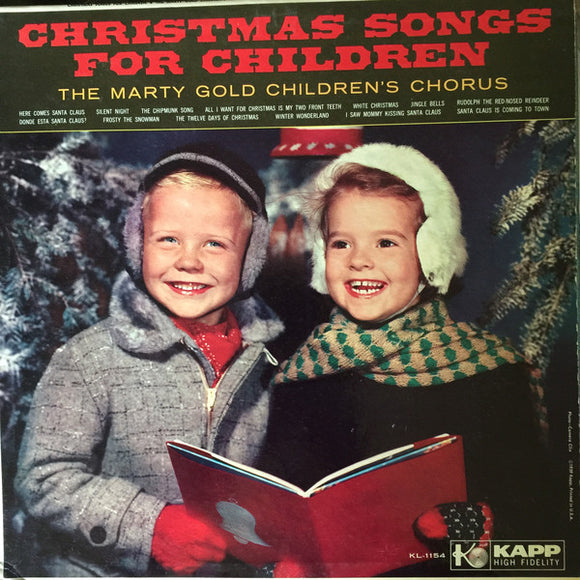 The Marty Gold Children's Chorus - Here Comes Santa Claus