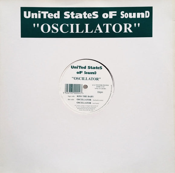 United States Of Sound - Oscillator / Kiss The Baby