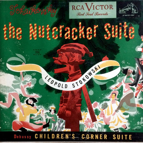 Leopold Stokowski And His Symphony Orchestra - Tchaikovsky Nutcracker Suite, Op. 71A  and Debussy Children's Corner Suite