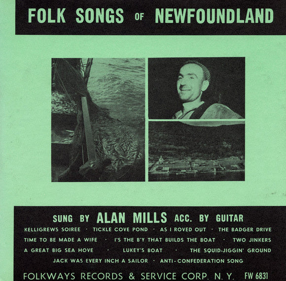Alan Mills - Folk Songs of Newfoundland