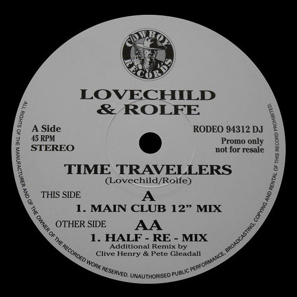 Lovechild & Rolfe - Time Travellers