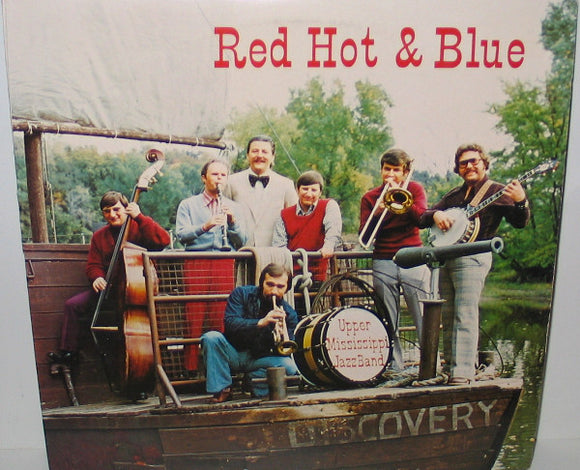 The Upper Mississippi Jazz Band - Red Hot & Blue