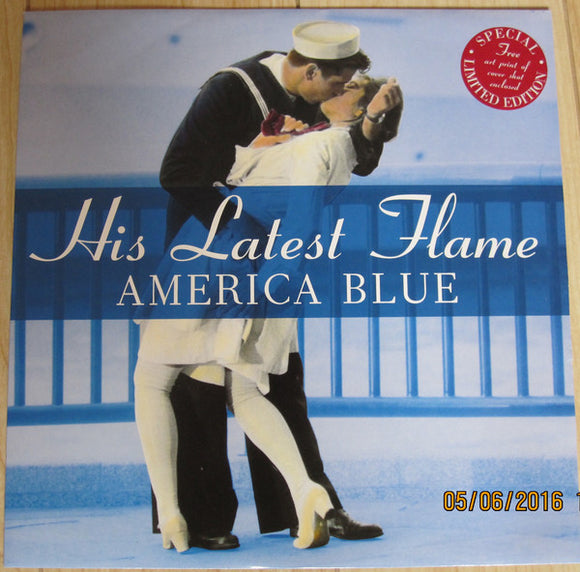 His Latest Flame - America Blue