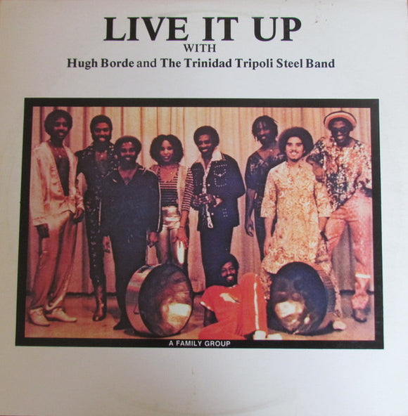 Hugh Borde - Live It  Up