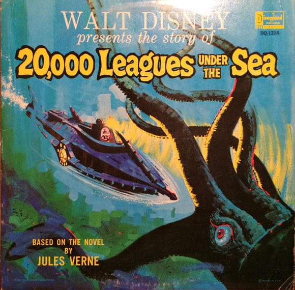 Unknown Artist - 20,000 Leagues Under The Sea