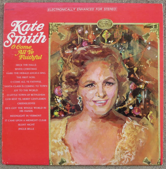Kate Smith - O Come All Ye Faithful