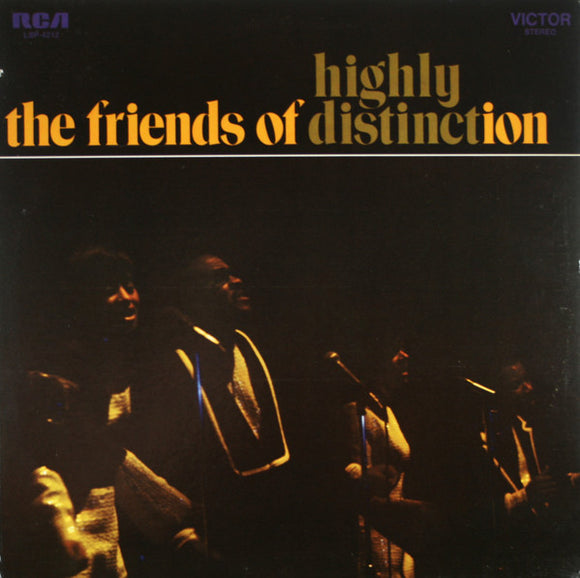 The Friends Of Distinction - Highly Distinct