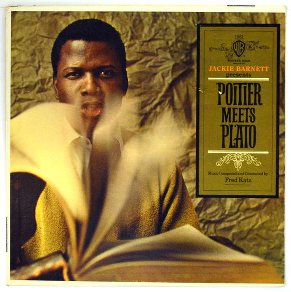 Sidney Poitier - Jackie Barnett Presents - Poitier Meets Plato - Music Composed And Conducted By Fred Katz