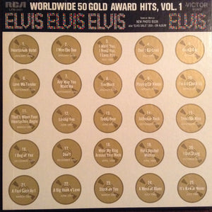 Elvis Presley - Worldwide 50 Gold Award Hits, Vol. 1