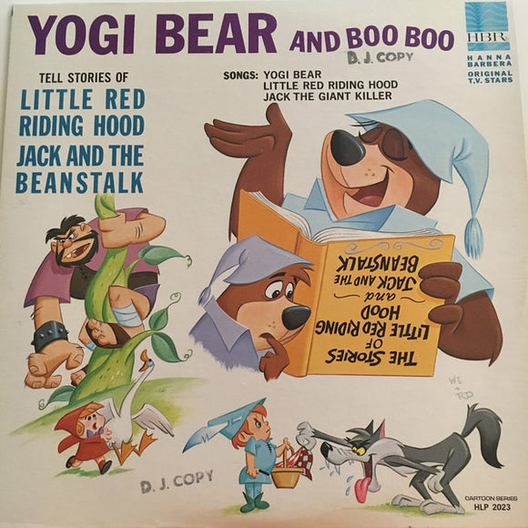 Yogi Bear And Boo Boo - Stories Of Little Red Riding Hood
