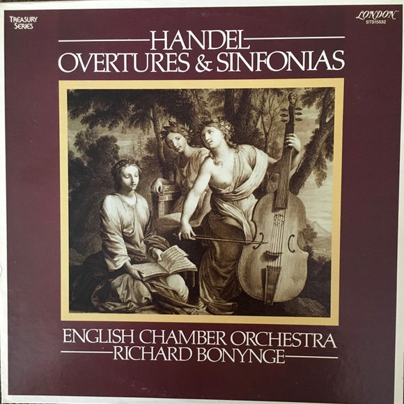 English Chamber Orchestra - Handel Overtures & Sinfonias