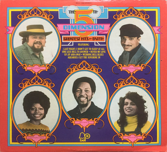 The Fifth Dimension - Greatest Hits On Earth