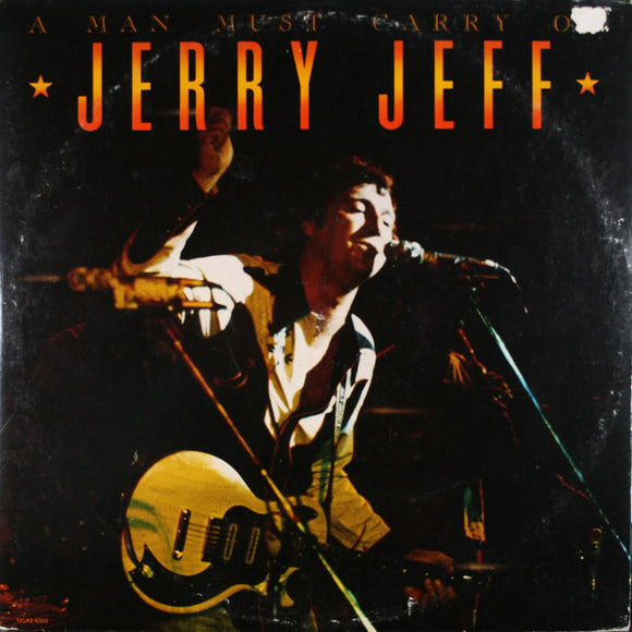 Jerry Jeff Walker - A Man Must Carry On
