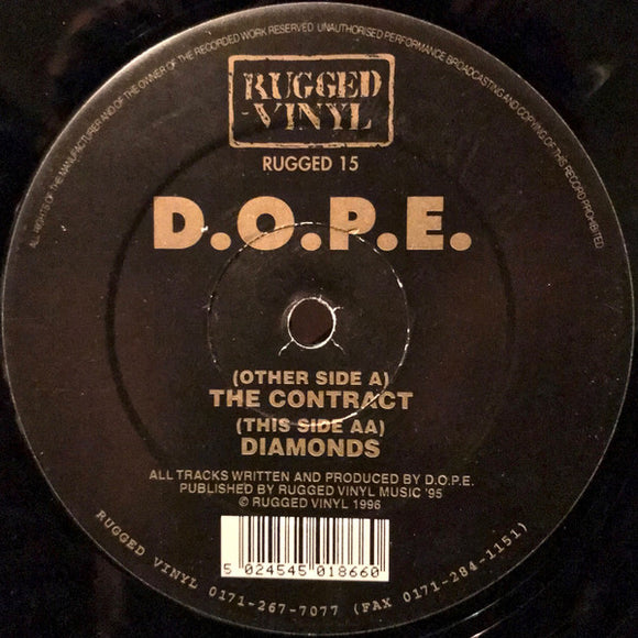 D.O.P.E. - The Contract / Diamonds