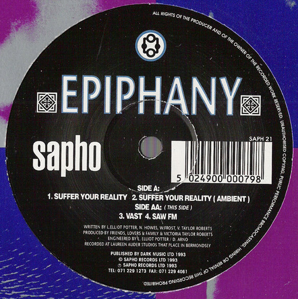 Epiphany - Suffer Your Reality
