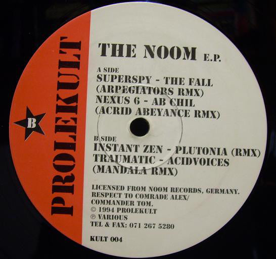 Various - The Noom E.P.