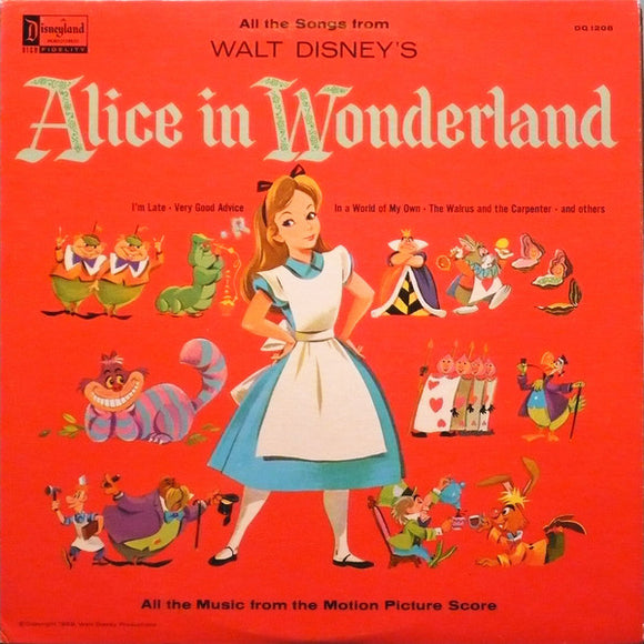 Camarata Chorus And Orchestra - Alice In Wonderland