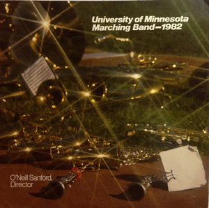 University Of Minnesota Marching Band - U Of M Marching Band In Concert 1982