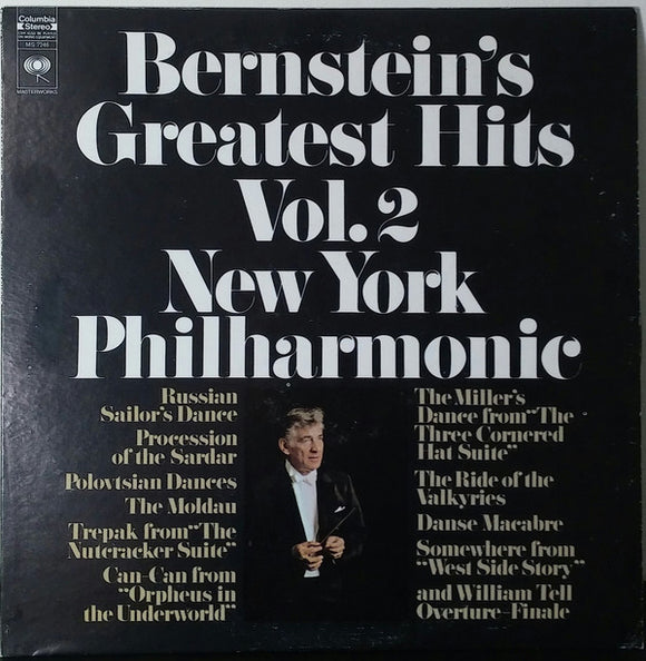 The New York Philharmonic Orchestra - Bernstein's Greatest Hits Vol. 2