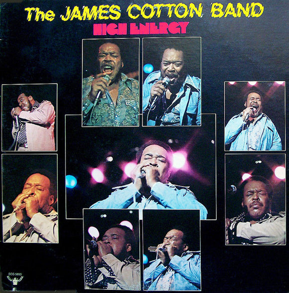 The James Cotton Band - High Energy