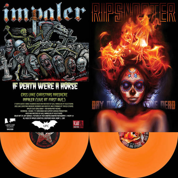 Ripsnorter - Day Of The Dead / Impaler - If Death Were A Horse