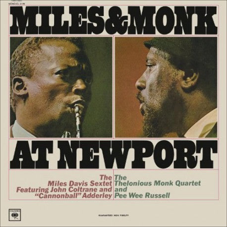 Miles & Monk - Miles & Monk At Newport