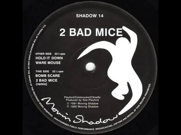 2 Bad Mice - 2 Bad Mice / No Respect
