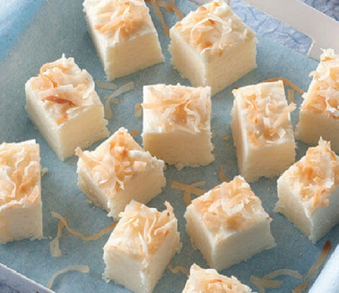 Sweet Vanilla and Tropical Coconut Fudge Fragrance oil.