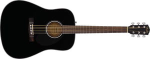 Fender CD-60 Dreadnought Acoustic Guitar Black - DUE EARLY FEBRUARY 2021