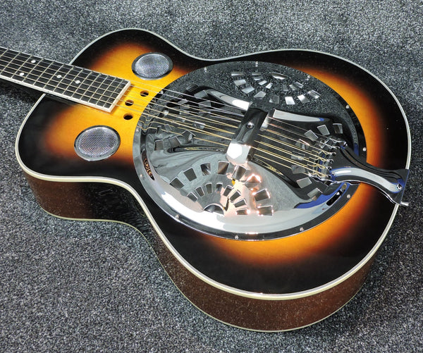 Ozark resonator guitar, wood body