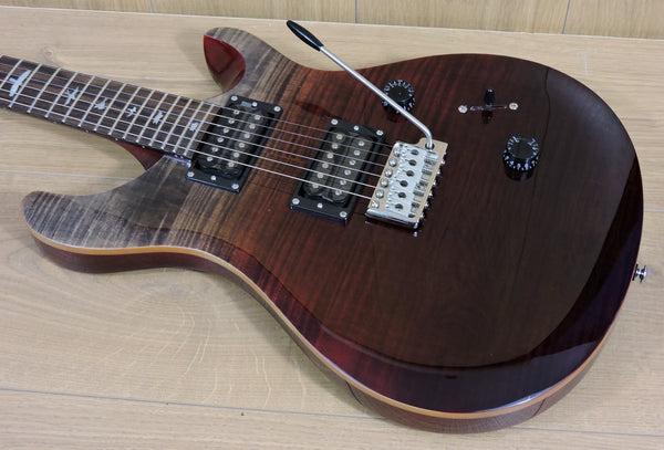 PRS SE Custom 24 Ltd. Edition Charcoal Cherry Fade - Marked