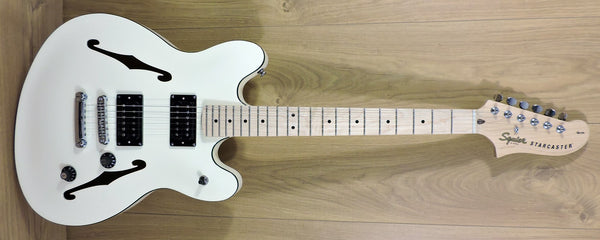 Squier Affinity Series Starcaster Olympic White