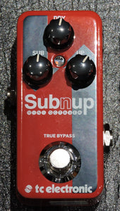TC Electronic Sub 'N' Up Octaver Pedal - Ex Display