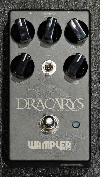 Wampler Dracarys Distortion Pedal - Ex Display